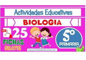 25 actividades de Biología para Quinto Grado de Primaria