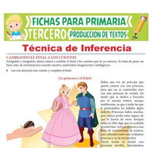 Ficha de Técnica de Inferencia para Tercer Grado de Primaria
