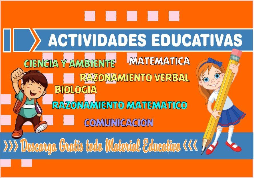 Actividades Escolares para Niños de Primaria