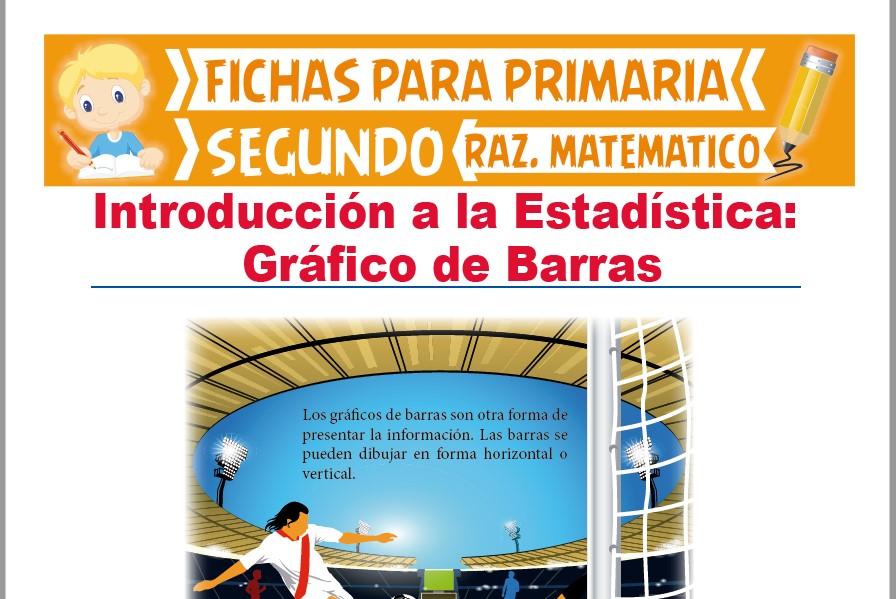 Ficha de Gráfico de Barras para Segundo Grado de Primaria