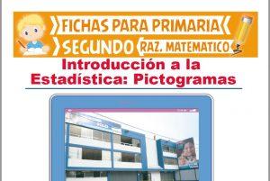 Ficha de Resolviendo Pictogramas para Segundo Grado de Primaria