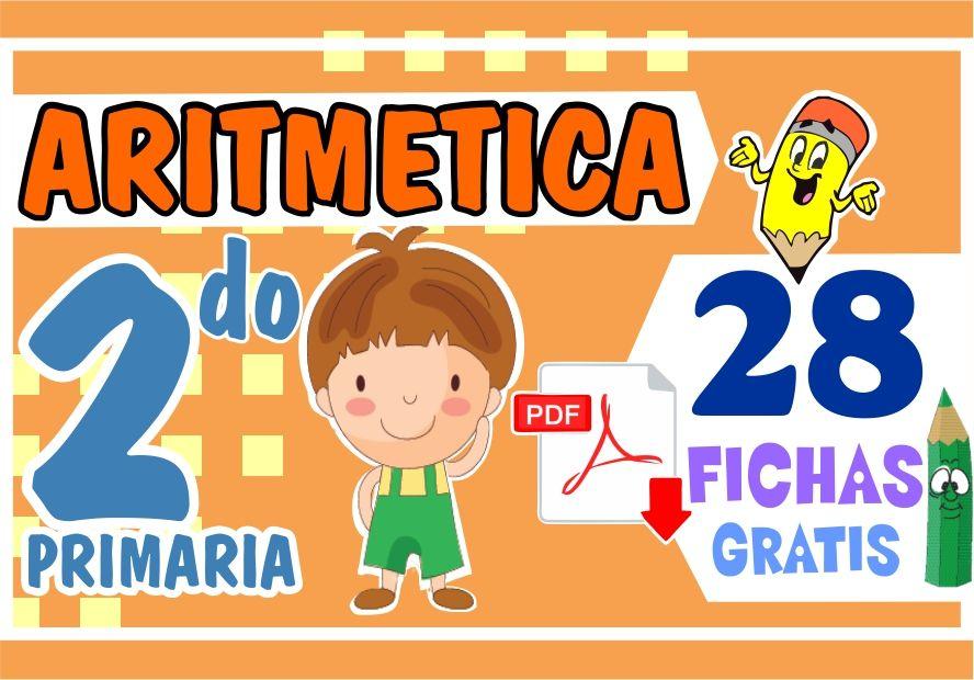 Ejercicios de Aritmetica para Segundo Grado de Primaria