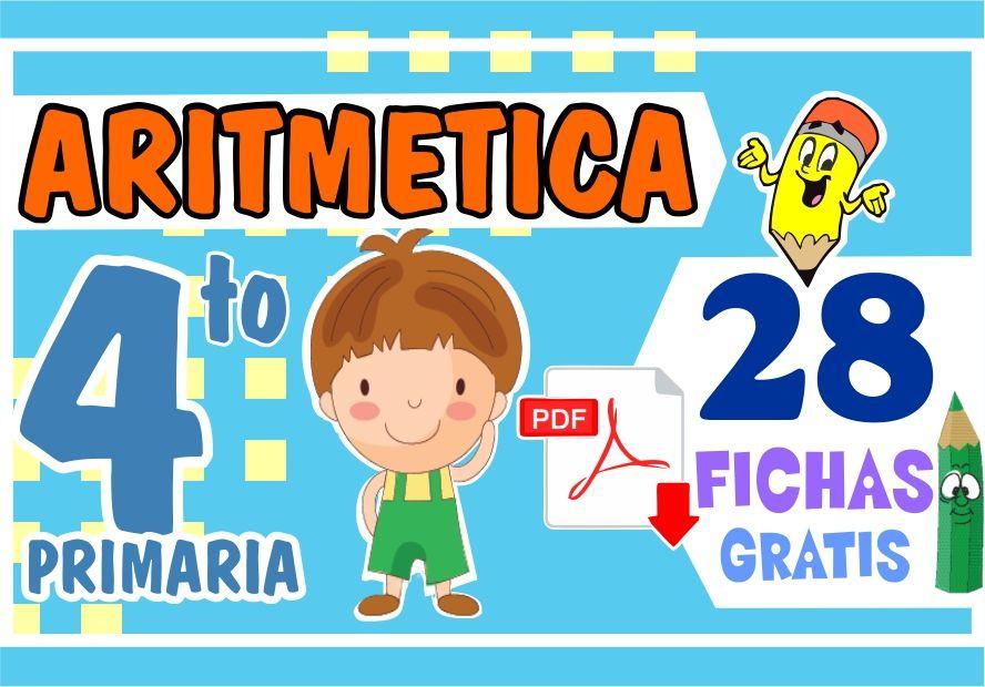 Problemas de Aritmética para Cuarto Grado de Primaria | – 2019 – |