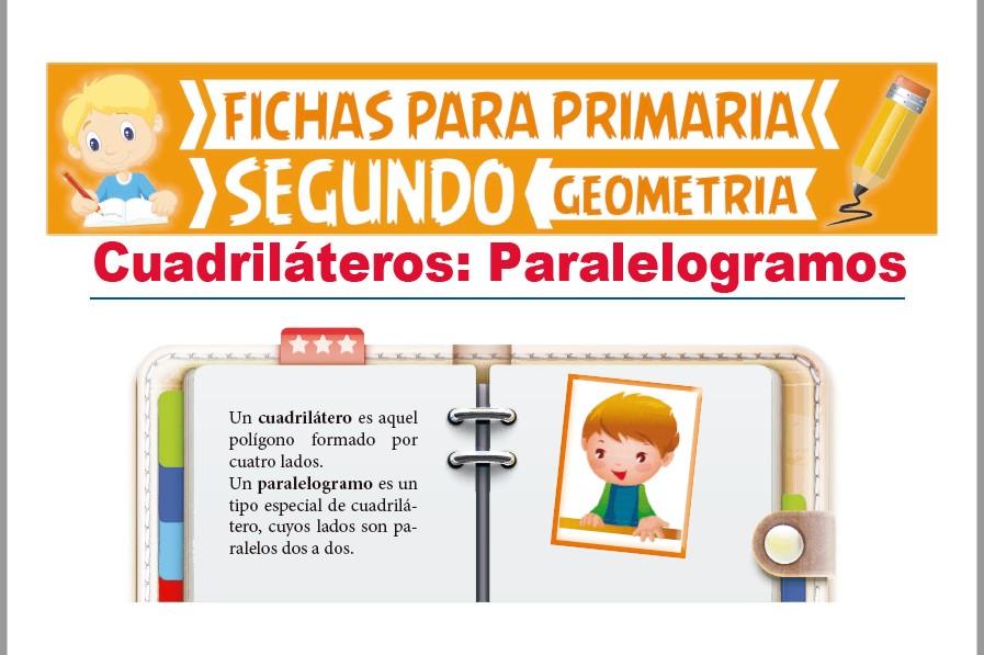 Ficha de Los Paralelogramos para Segundo Grado de Primaria