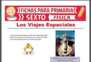 Ficha de Los Viajes Espaciales para Sexto Grado de Primaria
