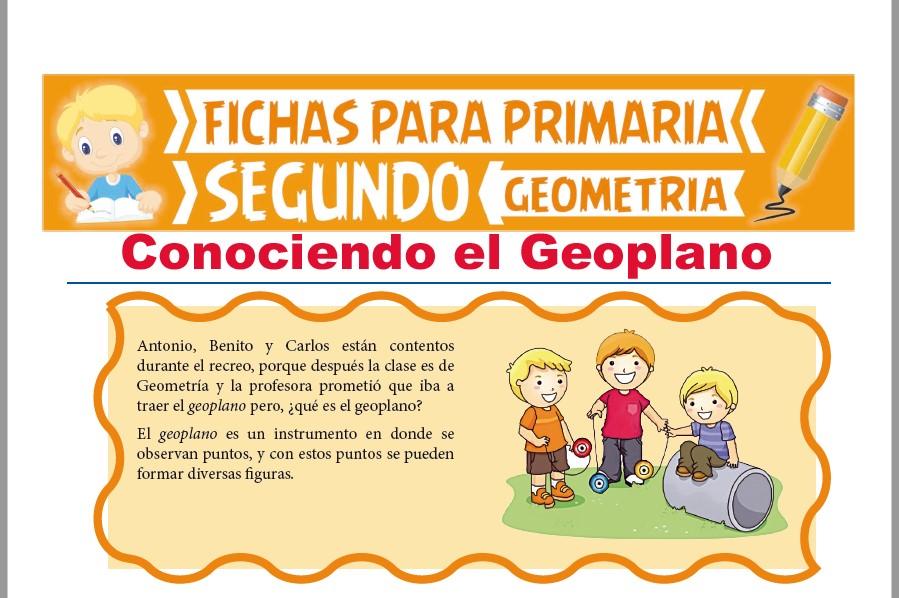 Ficha de Que es el Geoplano para Segundo Grado de Primaria