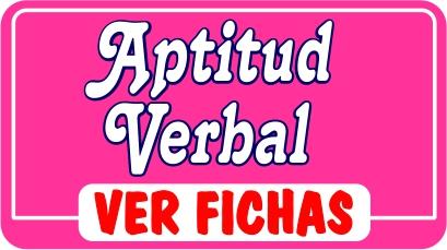 Aptitud Verbal - Actividades Educativas