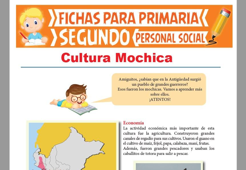Ficha de Cultura Mochica para Niños para Segundo Grado de Primaria