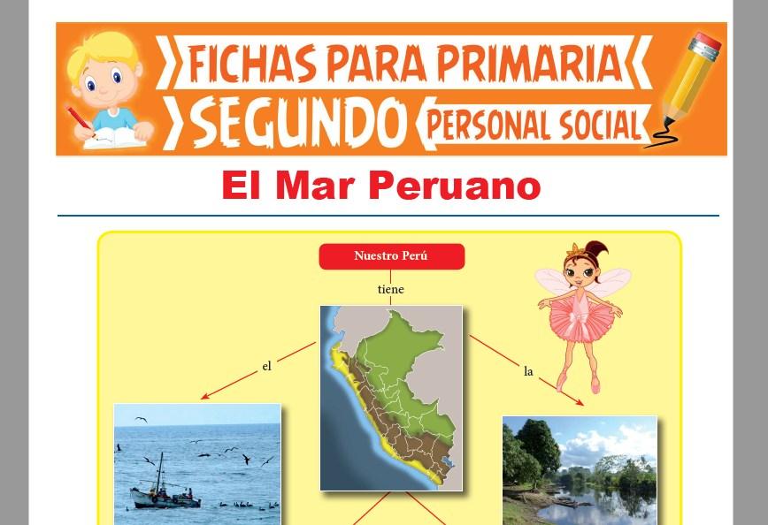 Ficha de El Mar Peruano para Segundo Grado de Primaria