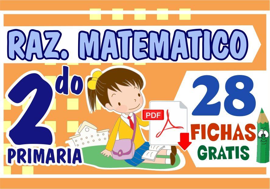 Actividades de Razonamiento Matematico para Segundo Grado de Primaria