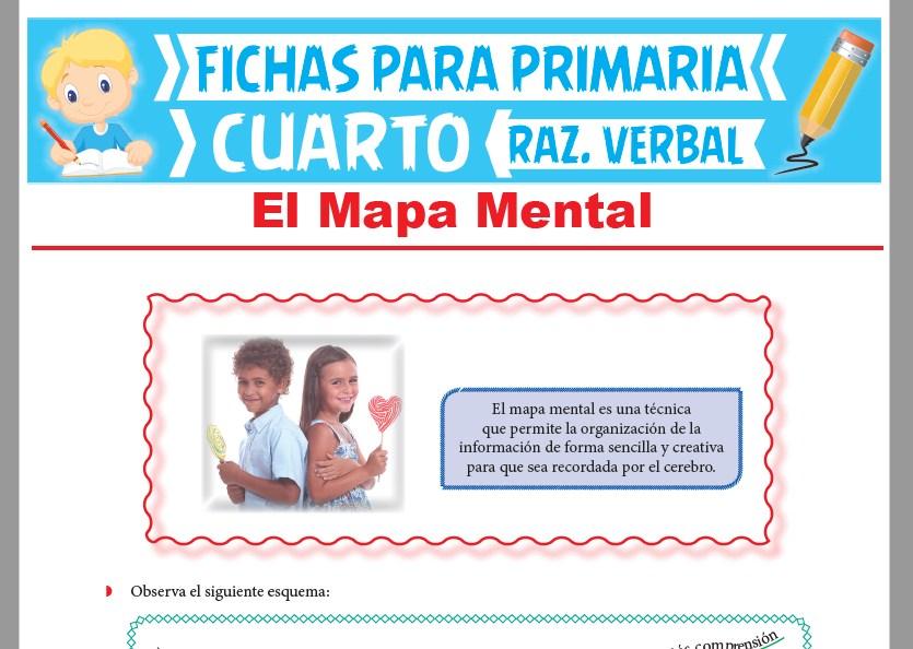 Ficha de El Mapa Mental para Cuarto Grado de Primaria