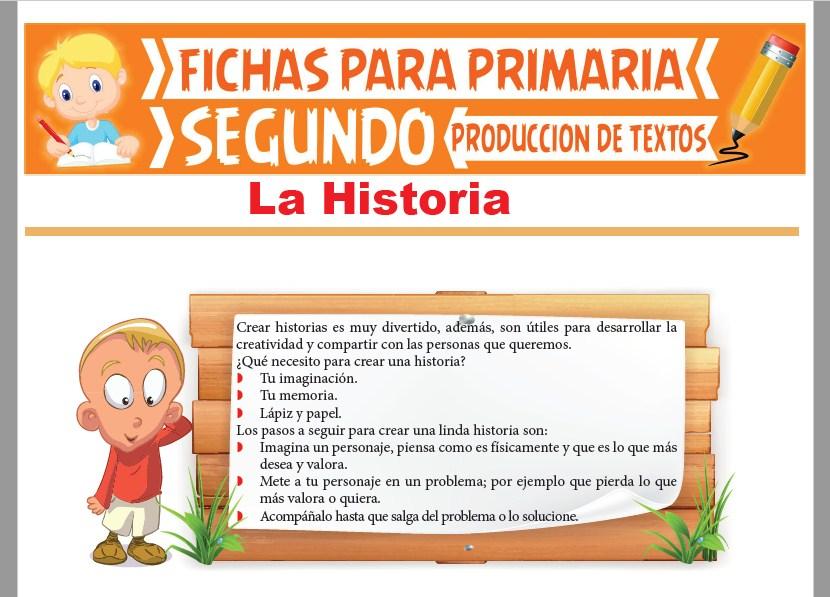 Ficha de La Historia para Segundo Grado de Primaria