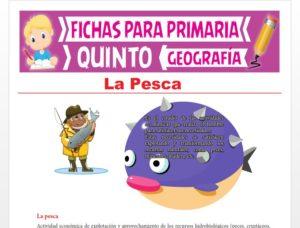 Ficha de La Pesca para Quinto Grado de Primaria