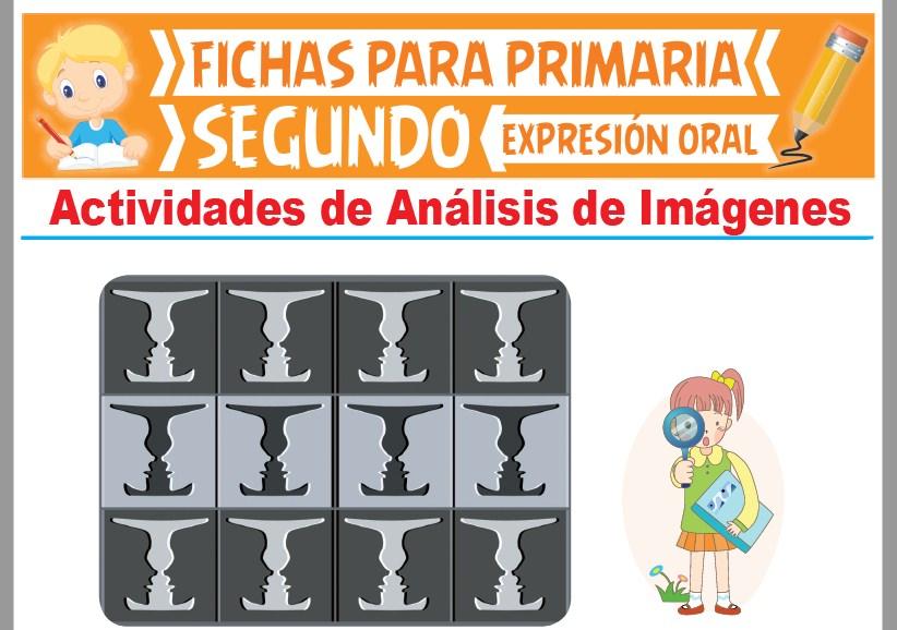 Ficha de Actividades de Análisis de Imágenes para Segundo Grado de Primaria