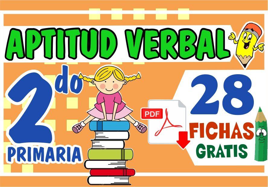 Actividades de Aptitud Verbal para Niños de Segundo Grado de Primaria