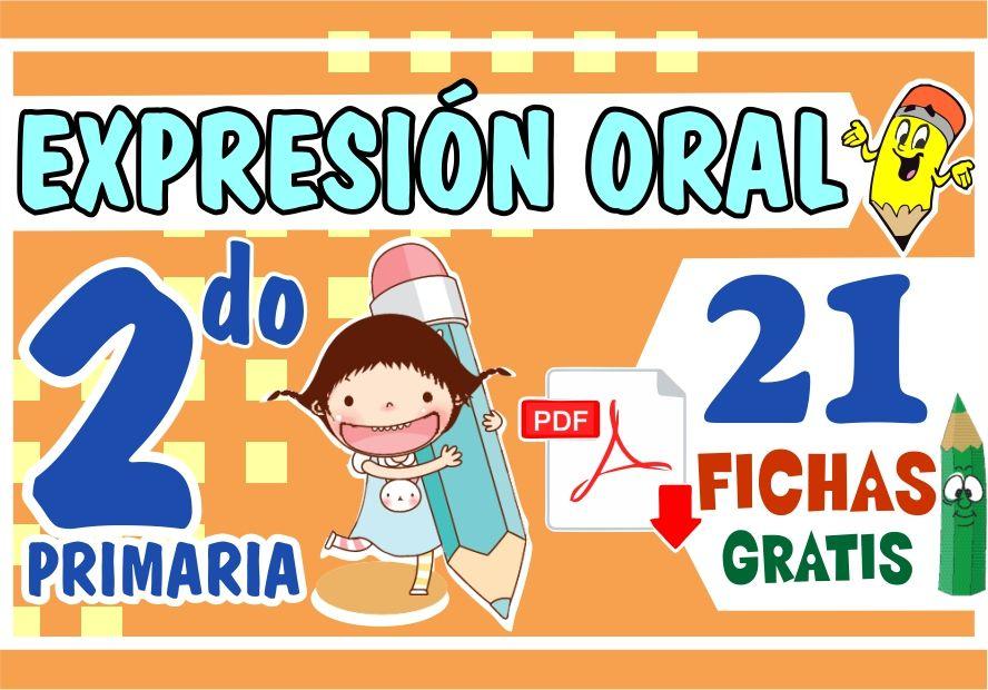 Actividades de Expresion Oral para Segundo Grado de Primaria