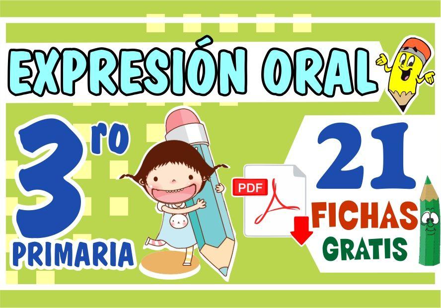 Ejercicios de Expresion Oral para Tercer Grado de Primaria
