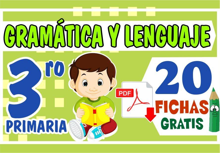 Actividades de Gramatica y Lenguaje para Niños de Tercer Grado de Primaria