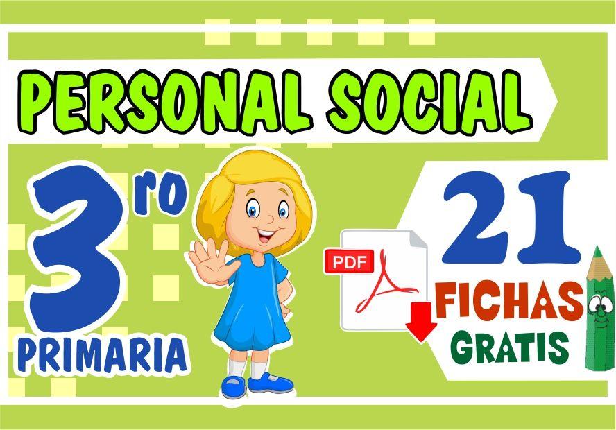 Ejercicios de Personal Social para Niños de Tercer Grado de Primaria